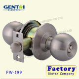 High Quality Cylindrical Round Knob Door Lock