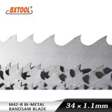 M42-B 34*1.1mm Inch 1 1/4*0.042 Bimetal Band Saw Blade High Qualiy Best Price