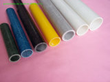 Clear Colorfull Pultruded Fiberglass Hollow Tube