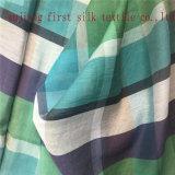 Silk Cotton Yarn Dyed Big Check Fabric/Yarn Dyed Check/Silk Cotton Check