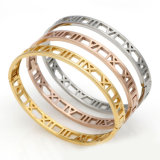 Gift Fashion Accessories Gold Stainless Steel Bracelet Jewelry
