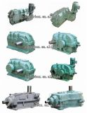 Dcyf Three-Step Hard Tooth Surface Cylindrical Gearbox with Auxiliary Drive