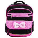 Colorful Girls Bag Lovely Bowknot School Backpack