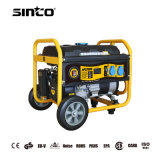 Newest 1-8kw Small Portable Electric Start Manual Start Gasoline Generator with Wheels