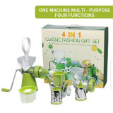 All in One Multi Function Manual Food Processor Juicer Mincer Chopper