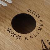 Aiersi Hot Sale Music Instruments 17 Keys Kalimba with Flower Rosette