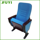 China Manufactory Price Fabric Wooden Chair Auditorium Seat Jy-998t