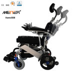 New Light Weight aluminum Electric Power Wheelchair Rehabilitation Therapy Equipment for Handicapped Man