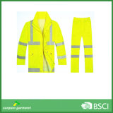 One Suit Jacket with Pants Reflective Clothes Safety Wear