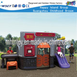 Commercial Playground Equipment Small Slide Playhouse (HF-20302)