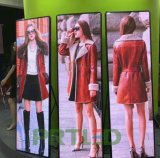 Ultra Slim Indoor P2.5 Portable Advertising LED Display with Foldable Stand