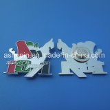 Newest Design Metal Badges for UAE 44th National Day, United Arab Emirates Map Enamel Magnetic Badges Custom