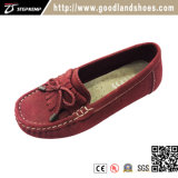 Women's Seude Leather Shoes with Fur Inside for Warmth 1123