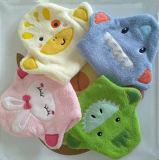 100% Cotton Washcloth Cute Baby Shower Toy