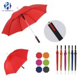 Newest Design Auto Open Straight Umbrella for Gift and Promotion Use/Fashion Long Stick Umbrella with Red/Gree/Blue/Black Color