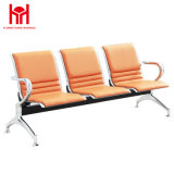 3-Seater Stainless Steel Airport Bench Chair