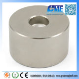 Strong N42 D50X30mm Countersunk Hole NdFeB Magnet
