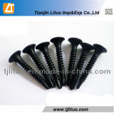 Black Phosphated Drywall Screw with Drilling Point