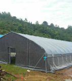 Plastic Woven Membrane Tunnel Greenhouse for Chicken House/Animal Husbandry and Aquaculture