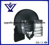 Military Anti Riot Helmet with Metal Grid (SYSG-206)