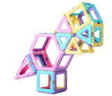 Magplayer Super Magnet Magnetic DIY Building Blocks Toys for Kid 62 Pieces