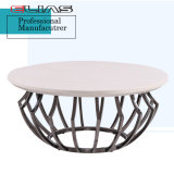 Modern Furniture Coffee Table with Metal Frame