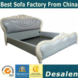 Wholesale Price Royal Bedroom Furniture Leather Bed (A950)