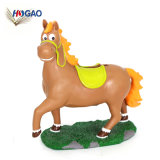 Direct Factory Manufacturer Cheap White Custom Made Resin Horse Coin Banks for Sale