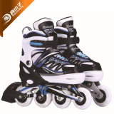 Wholesale Kids/Children Inline Roller Skate Shoes with PU Flashing Wheels