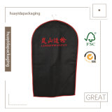 Recyclable Garment Bag with Good Price Suit Cover Bag