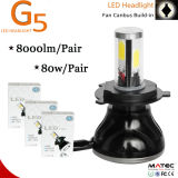 G5 Super Brightness 8000lm 80W 9-36V H4 H7 H11 9005 9006 9007 Motorcycle Headlight