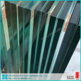 Curtain Wall 10.76mm 12.76mm Construction Tempered Laminated Safety Glass