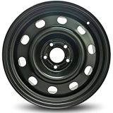 Winter Snow Wheels 6X15 Black Auto Rims 5X100 Steel Wheels