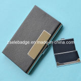 Business Name Card Holder PU Leather Case (ele-box01)