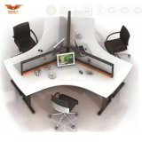 Design Layout Open Space 3 Seater Office Workstation