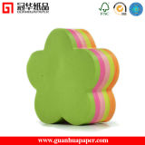 Different Color Die Cut Flower Sticky Notes with Low Price