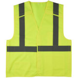 Yellow Safety Vest Reflective Vest with Velcro Tape ANSI Workwear