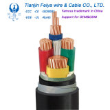 XLPE 24kv Power Cable Mv Electrical Cables High Voltage Armoured Cable, Copper Conductors Power Electric Wire Cable
