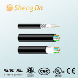 Special Communication Coaxial RG6 with Cat5/Cat5e/CAT6/Cat6e Cable