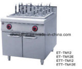 Gas Pasta Cooker with Cabinet ETT-TM12