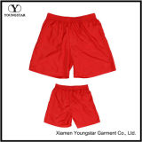 Mens Red Lined Microfiber Shorts Short Sports Beach Pants