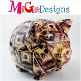 Wholesale New Chinese Products Money Piggy Ceramic Saving Box