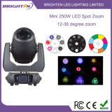 Super Mini 250W LED Spot Zoom Moving Lights