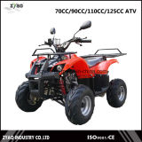 EPA Farm ATV/Quad with 110cc Engine Reverse 7inch or 8inch Tyre Rear Carrier Bull Style Hot Sale