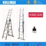 3*6 Style Three Section Aluminum Extension Ladder With EN131 CE