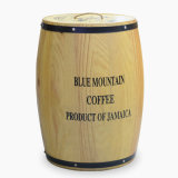 High Quality Wooden Barrel Wine Bucket Wine Barrel Large Natural