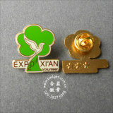 Tree Shape Pin, Volunteer Souvenir Badge (GZHY-LP-053)