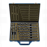 10PCS DIN345 HSS Taper Shank Drill Set