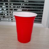 16oz 450ml Wholesale Price Food Grade PS Plastic Red Solo Home Party Cup