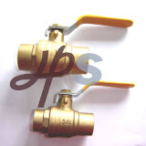 CSA UL Approved Brass Solder Ball Valves (HB34)